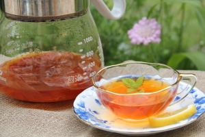 玉ねぎ養生茶